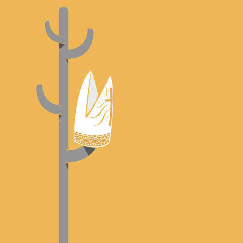 "Wordless News began in February 2013, when, on a whim, Fabrizio illustrated Pope Benedict ""hanging up his hat."""