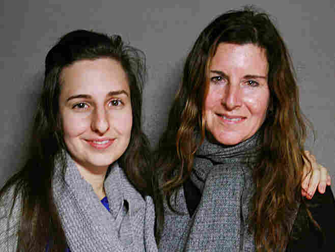 Kathleen Russo (right) and daughter Marissa Maier visited StoryCorps to remember Russo's late husband, writer Spalding Gray.