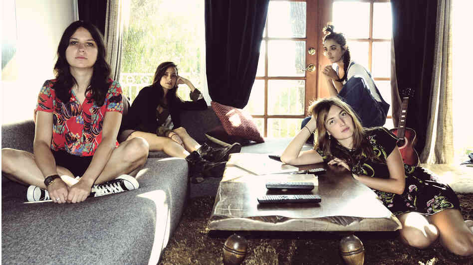 Warpaint's self-titled album comes out Jan. 21.