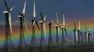 Subsidies for wind farms were among the tax breaks that expired on Jan. 1.