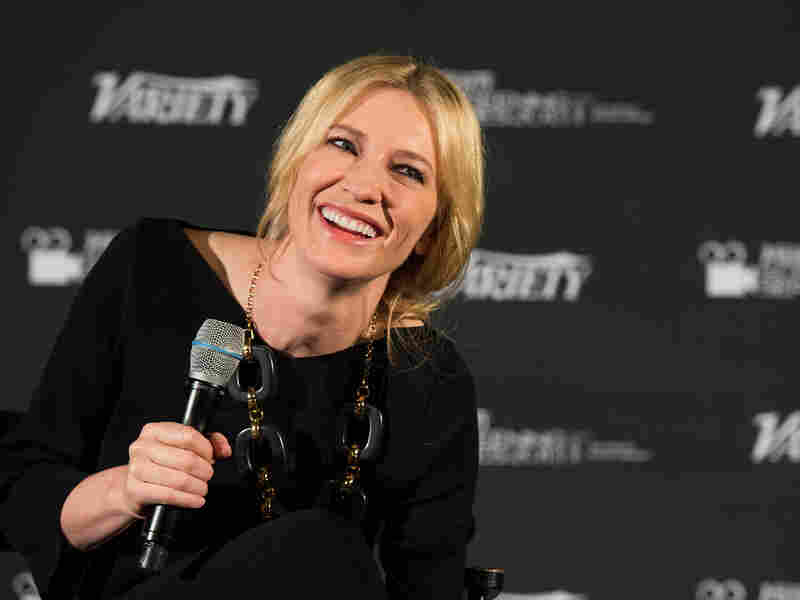 Laugh Riot: Blanchett, pictured here at a Hollywood screening of Blue Jasmine on Jan. 9, tells NPR's Robert Siegel that she read the film as a black comedy. It wasn't until three weeks into filming that director Woody Allen told her it was meant to be a serious drama.