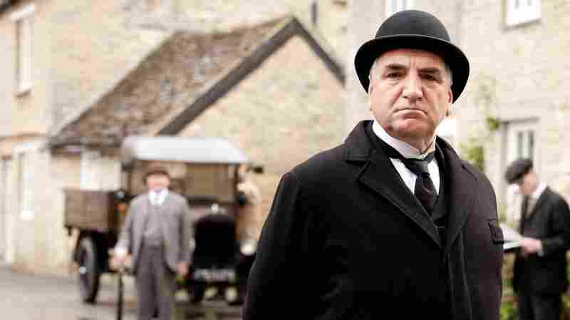 Jim Carter as Mr. Carson in Downton Abbey.