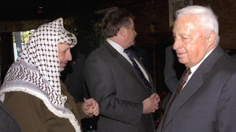 a feud that lasted a lifetime ariel sharon vs yasser arafat