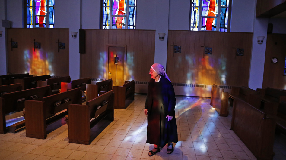 Little Sisters of the Poor runs the Mullen Home for the Aged in Denver, Colo. The group is seeking exemption from an Affordable Care Act requirement. (Brennan Linsley/AP)