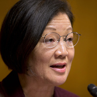 Democratic Sen. Mazie Hirono of Hawaii says President Lyndon Johnson's War on Poverty has been a success.