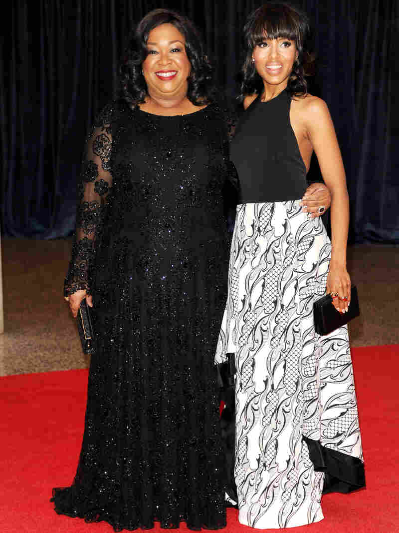 Screenwriter Shonda Rhimes, left, and actress Kerry Washington are hot in Hollywood due to the success of the TV show Scandal.
