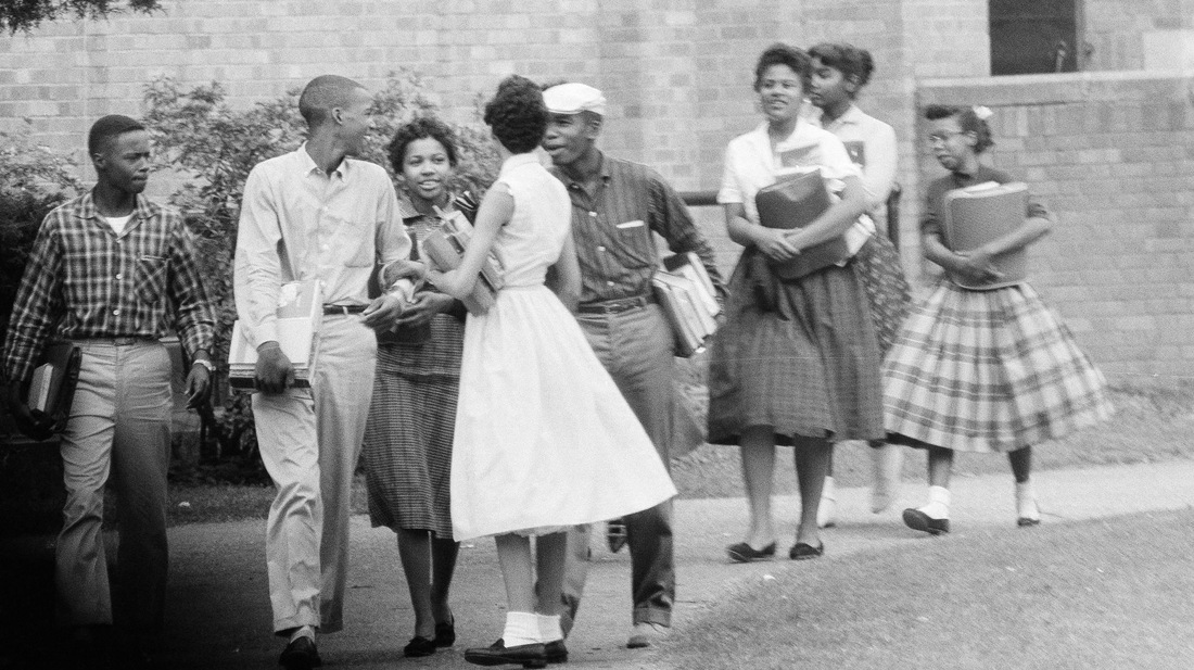 the harassment melba pattillo beals and other colored students faced in little rock central high sch