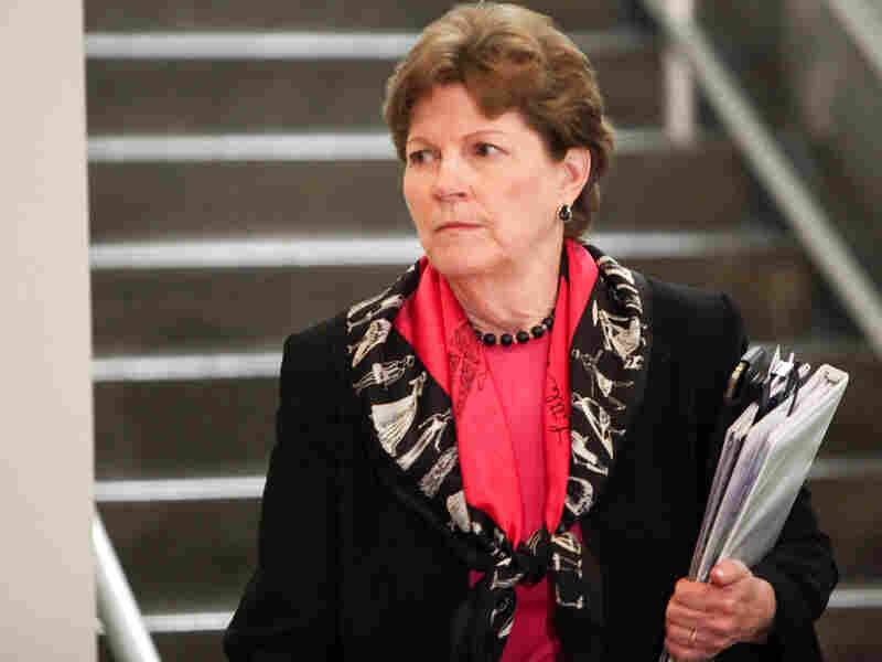 Sen. Jeanne Shaheen (D-N.H.) in the U.S. Capitol building May 14, 2013. Groups are creating ads in New Hampshire to attack Shaheen 10 months before the midterm congressional elections.