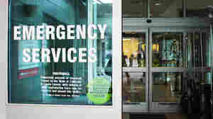 O'Connor Hospital in San Jose, Calif., is encouraging uninsured patients to sign up for coverage in the emergency room.