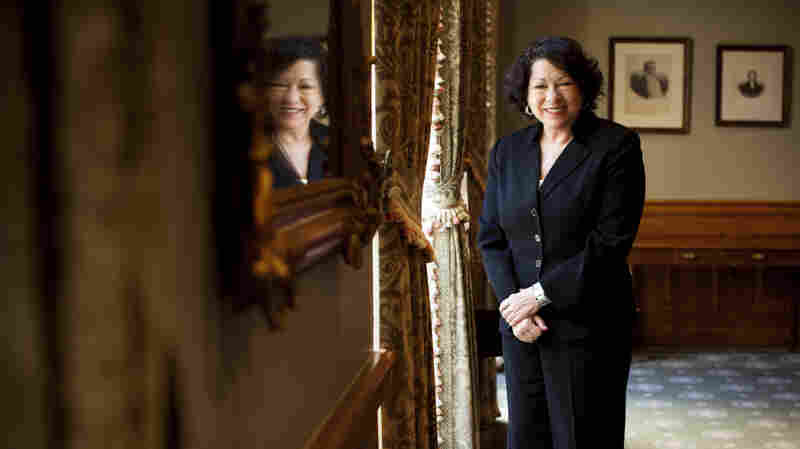 As A Latina, Sonia Sotomayor Says, 'You Have To Work Harder'