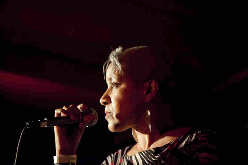 Vocalist Rene Marie presented a tribute to Eartha Kitt.