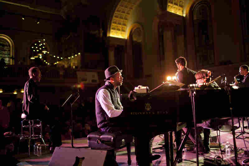 Henry Threadgill's tribute to improvising conductor Butch Morris was the only act to play two sets at Winter Jazzfest. Jason Moran was one of two pianists, opposite David Virelles.