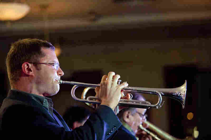 The band Mostly Other People Do The Killing, featuring trumpeter Peter Evans, expanded its lineup from four to seven musicians for Winter Jazzfest.