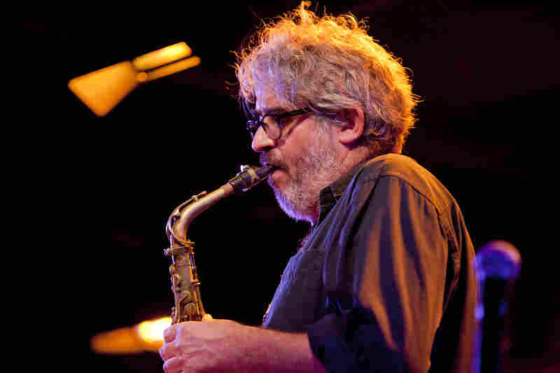 Saxophonist Tim Berne led his band Snakeoil, a critical favorite of 2013.
