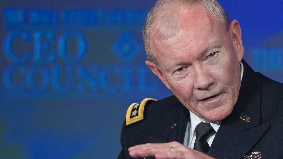Gen. Martin E. Dempsey, Chairman of Joint Chiefs of Staff, in November of 2013. (AFP/Getty Images)