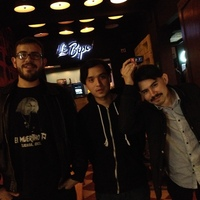 We met up with Los Macuanos, a trio from Tijuana, at a bar called El Bipo.