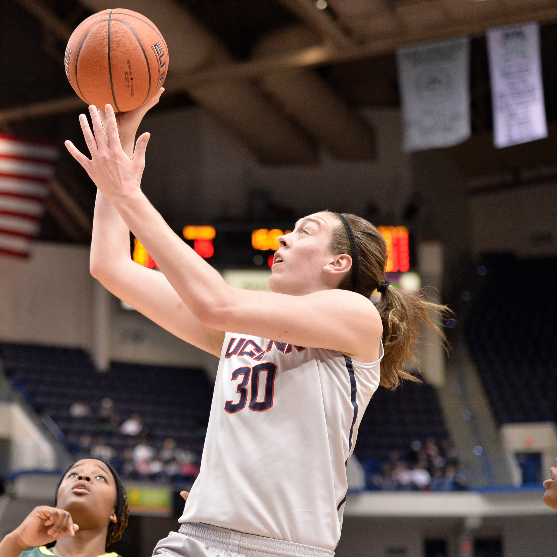 Breanna Stewart is a gifted sophomore basketball star at the University of Connecticut. Frank Deford wonders if you've ever heard of her.