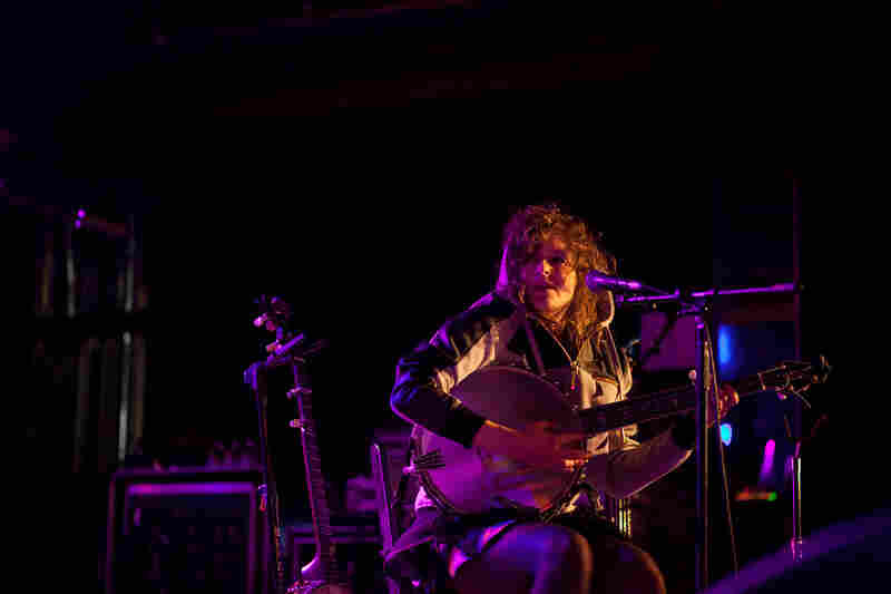 Banjo master Abigail Washburn, part of an Appalachian-Chinese mash-up called The Wu Force, performs at New York City's Webster Hall as a part of globalFEST on Jan. 12, 2014.