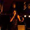 Lebanese singer Yasmine Hamdan brought her cool, underground electro-pop to globalFEST at Webster Hall in New York City on Jan. 12, 2014.