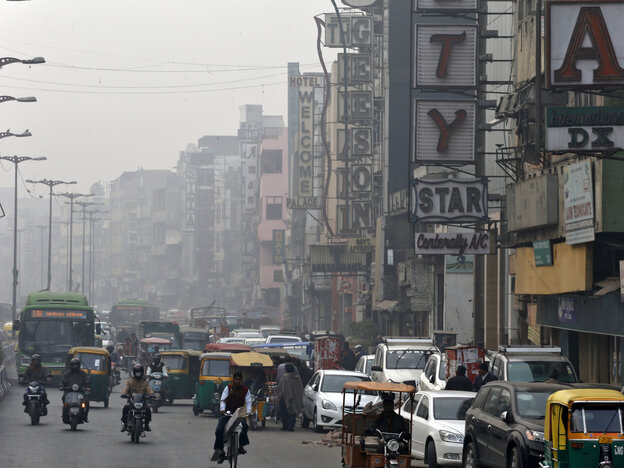 A view of the Paharganj area is pictured in New Delhi on Wednesday. Police were questioning a group of men after a Danish woman says she was robbed and then gang-raped in the heart of the Delhi's tourist district.