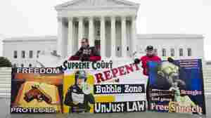 Justices Appear Divided On Abortion Clinic Buffer Zones