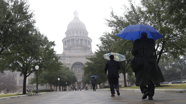 Texas is one of 23 states in which Republicans have control of both the state legislature and the governor's office.