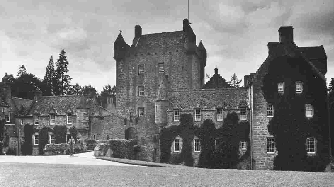 Cawdor Castle is often called Macbeth's Castle because it's the place of a murder in Shakespeare's Macbeth. The castle was built long after Shakespeare died. Lady Liza Campbell, who was raised at the castle, is pushing to revise the law to allow women to inherit titles and estates.
