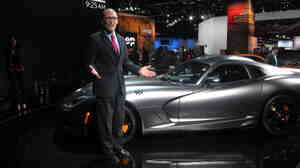 """""""Any federal employee who's driving a Dodge Viper either has a really good spouse, a really good inheritance or needs to be investigated by the inspector general,"""" Labor Secretary Tom Perez says at the Detroit Auto Show."""
