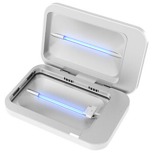 PhoneSoap uses UV-C light to clean your phone while it