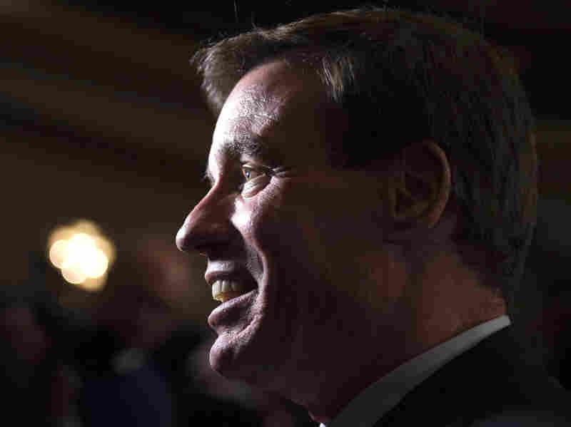 Sen. Mark Warner, D-Va., at a Nov. 5, 2013, rally for newly elected Virginia Gov. Terry McAuliffe.
