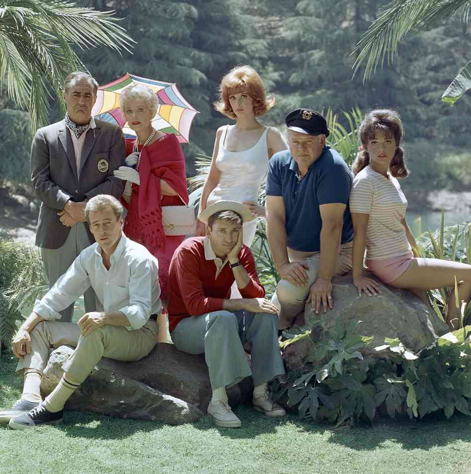 Actor Russell Johnson, the Professor on Gilligan's Island, has died at age 89. He's seen here at far left seated next to Bob Denver, along with fellow cast members from left, Jim Backus, Natalie Schafer, Tina Louise, Alan Hale Jr., and Dawn Wells.
