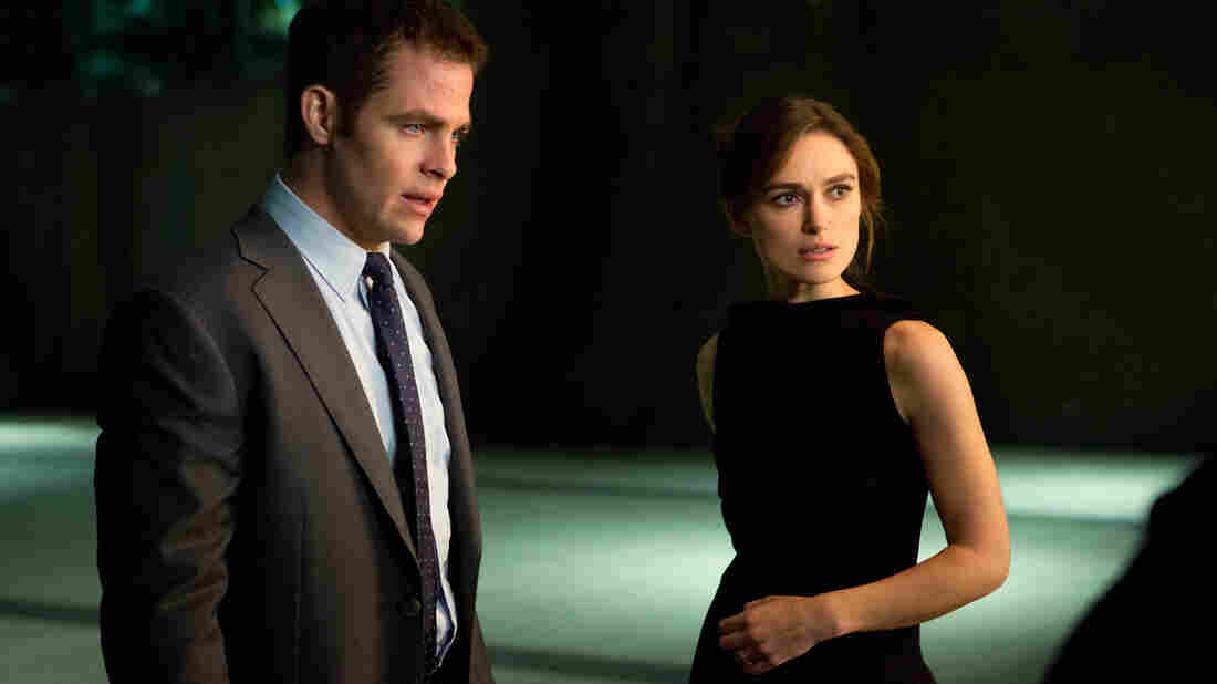 Chris Pine and Keira Knightley anchor Jack Ryan: Shadow Recruit, opposite Kevin Costner as a CIA veteran and Kenneth Branagh as the story's big bad.