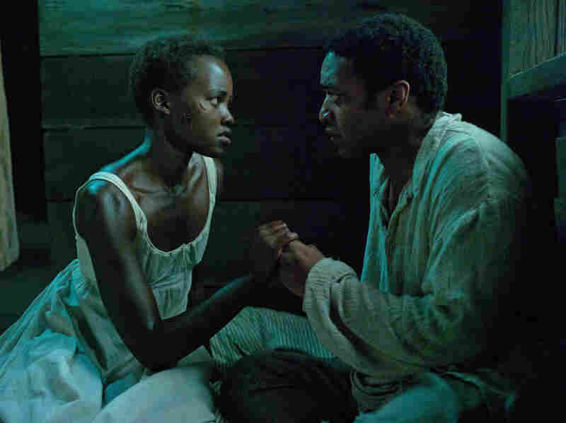 Lupita Nyong'O and Chiwetel Ejiofor were both nominated for Oscars for their work in 12 Years A Slave.