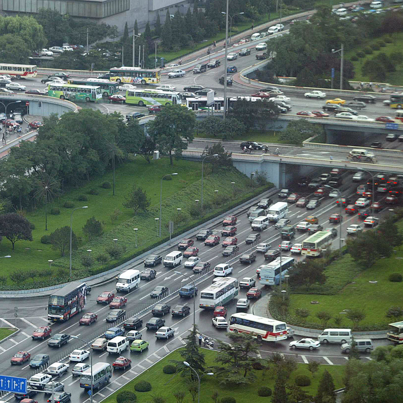 Looks like fun, right? This is just another day on Beijing roads, and what you can expect if you're able to pass the Chinese driver's test.