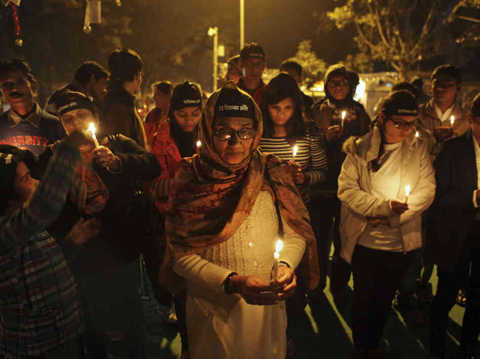 "Indians participated in a candlelight vigil last month to mark the anniversary of the death of a young woman who was gang raped and murdered in New Delhi. Indian media dubbed the woman ""Nirbhaya,"" or fearless. Now, after other high-profile rapes in the country, India has unveiled a handgun for women."