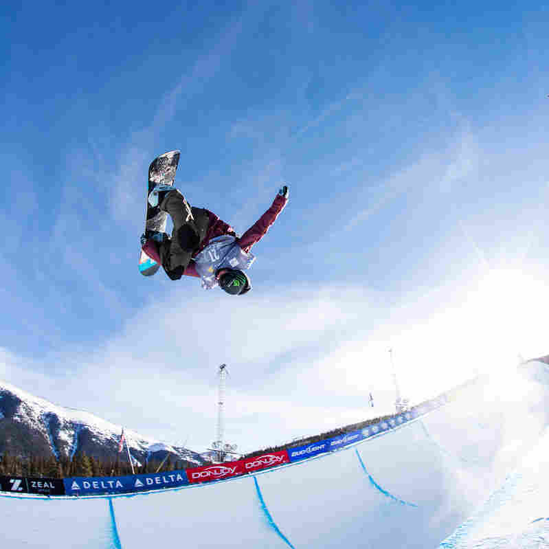 Taylor Gold competes at the 2013 U.S. Snowboarding Grand Prix at Copper Mountain, Colo., one of the qualifying events for the U.S. team. His sister Arielle is also competing in the women's contest.