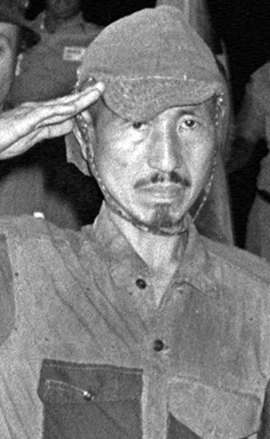 Hiroo Onoda, who wouldn't surrender for nearly three decades and continued to battle with villagers in the Phi