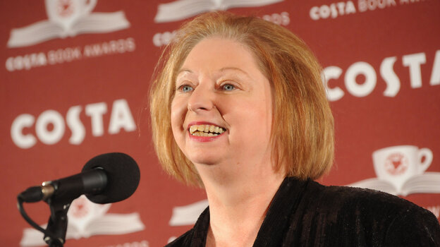 Hilary Mantel accepted the award for Costa Book Of The Year in January 2013 in London.