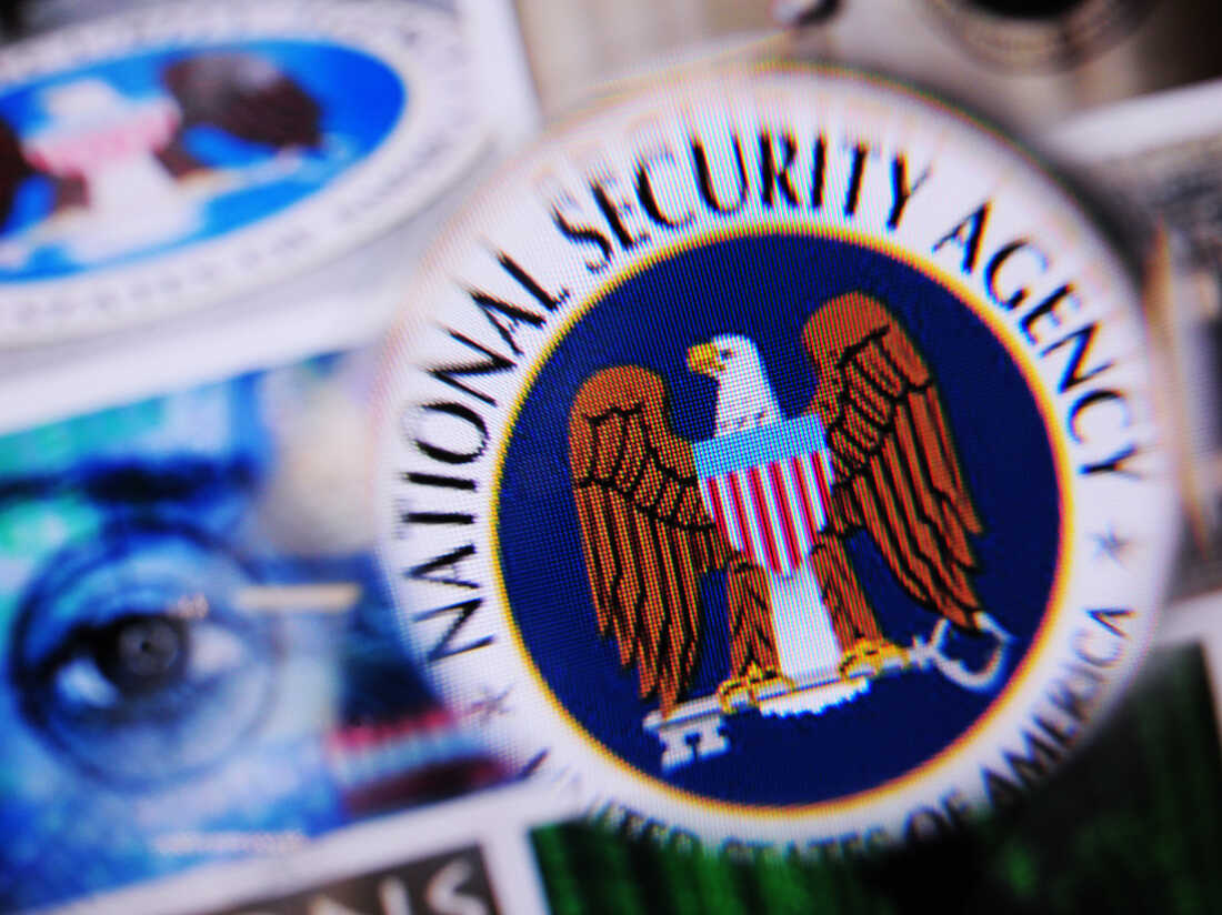 The National Security Agency logo.