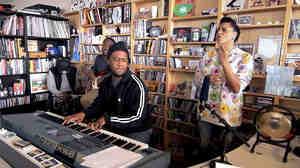 Robert Glasper Experiment performs a Tiny Desk Concert.