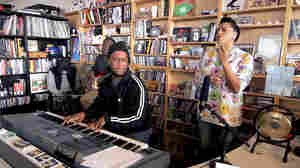 Robert Glasper Experiment performs a Tiny Desk Concert.