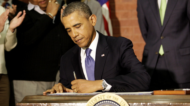 President Obama has alluded to his pen and his phone as two tools that help him act without waiting for congressional approval. (Getty Images)