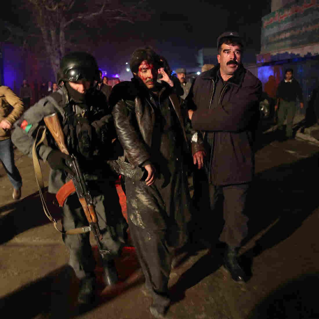 IMF, U.N. Staff Among 21 Killed In Kabul Restaurant Attack