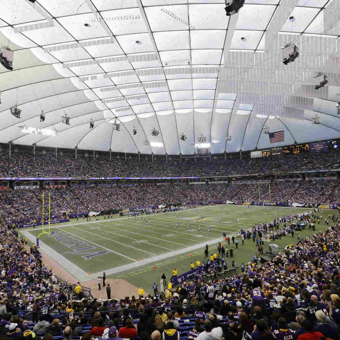 Watch: The Metrodome Roof Deflates In 35 Minutes