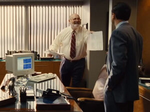 What we learned from watching The Wolf Of Wall Street: Side dishes can be crazy expensive.