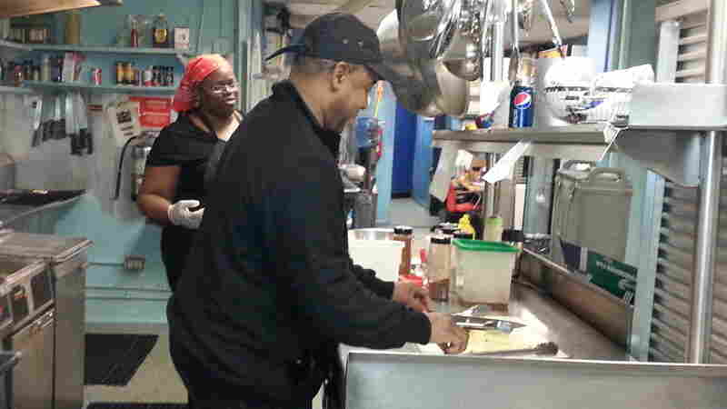 """Chef Furard Tate says he wanted to """"bring love back"""" to a Washington, D.C., neighborhood damaged since the 1968 riots."""