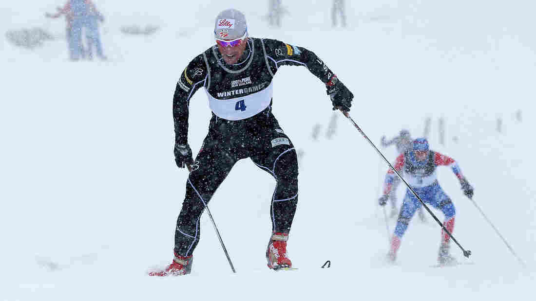 Kris Freeman, skiiing here for the U.S. team in 2011, during the Winter Games NZ, was cut from the U.S. Ski team before the upcoming Sochi Olympic Games. Freeman has had to train without their support and still hopes to qualify to compete in Russia.