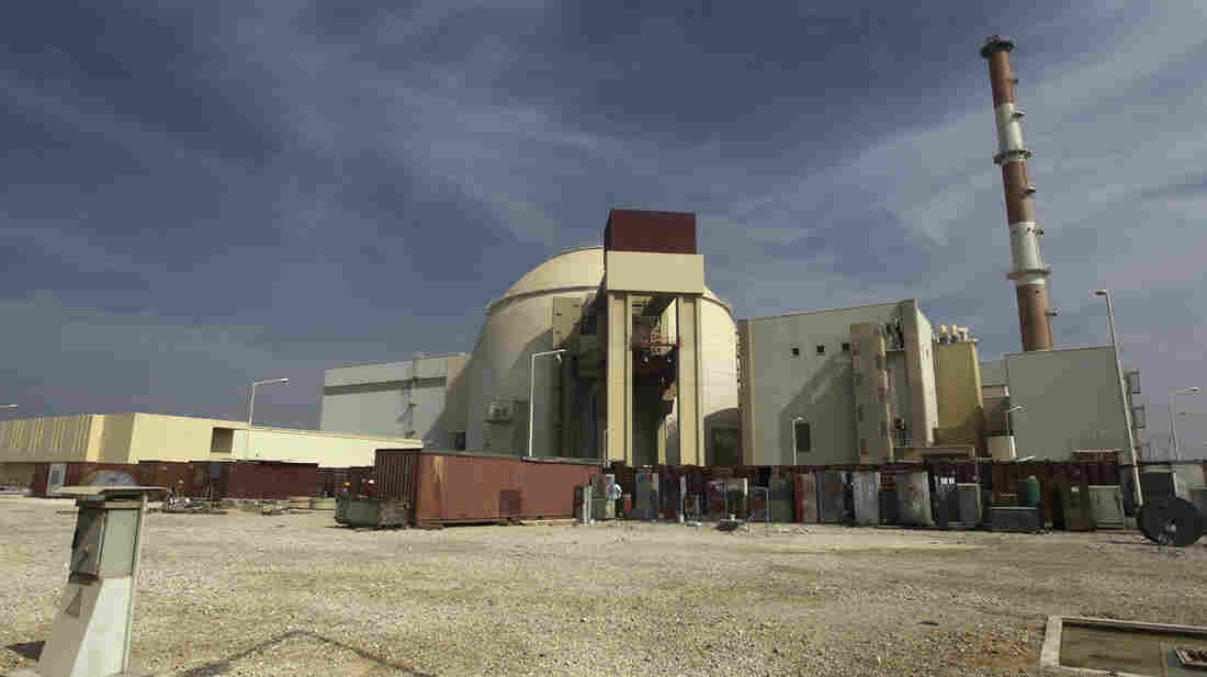 The reactor building of the Bushehr nuclear power plant just outside the southern city of Bushehr, Iran, in 2010.