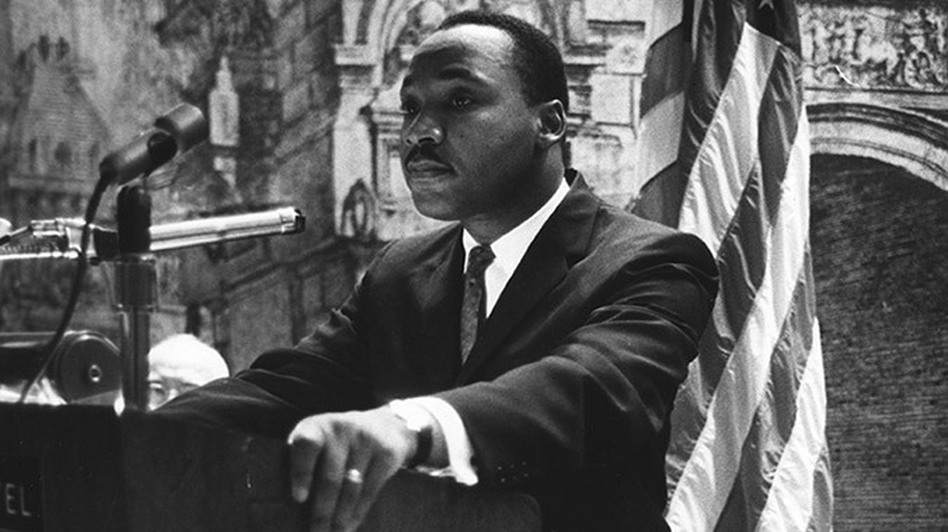 A recording of Dr. Martin Luther King Jr. delivering this address to the New York State Civil War Centennial Commission in 1962 was recently discovered by the New York State Museum. (Courtesy of New York State Education Department )
