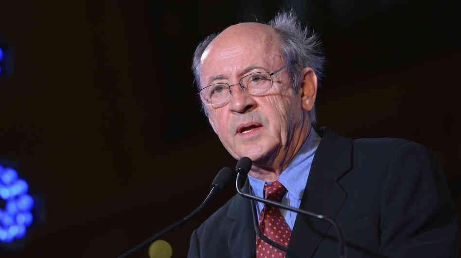 Poet Billy Collins is pictured in February 2013 in New York City.